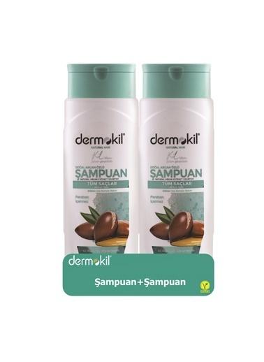 Dermokil Dermokil Argan Şampuan 400ML 2'li SET Renksiz